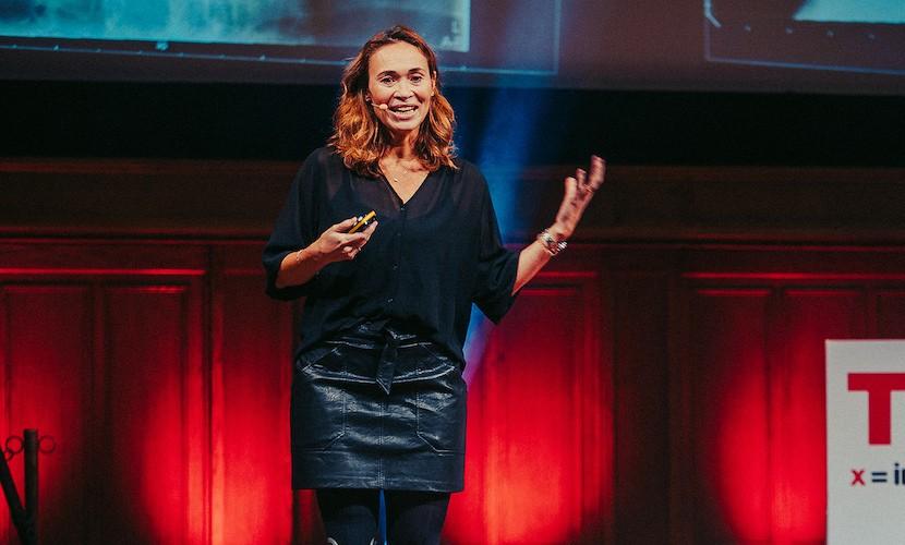 TEDxAmsterdamWomen - Bibian Mentel Spee