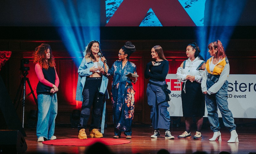 TEDxAmsterdamWomen - RECONSTRUCT